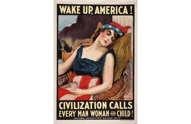 wake up america poster